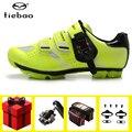 Tiebao MTB обувь для велоспорта мужские кроссовки добавить педаль для велосипеда SPD набор для занятий спортом на открытом воздухе велосипед гон...