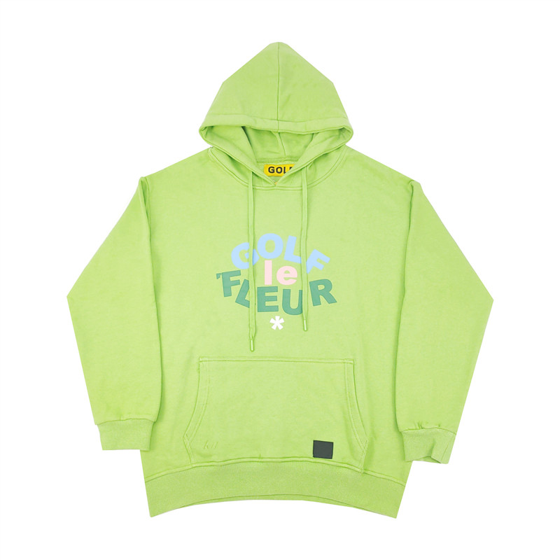 New Men Golf Flower Le Fleur Tyler The Creator Hoodies Hoody Hooded Sweatshirts Velvet Cotton Drake Thicken Fleece #N32