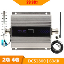 Antenna Repeater signal Amplifier 2G 4G DCS1800 Mobile Phone Signal Booster Cell Cellular For Network with Wh