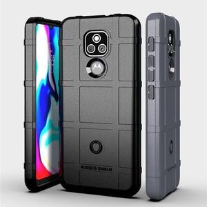 Image 1 - Ốp Lưng Armour Case Dành Cho Motorola Moto E7 Plus E7 2020 E7 Điện Moto Edge S Silicone Mềm Hạng Nặng Trang Bị Nắp cho Moto E 2020 Ốp Lưng