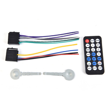 12V Car Stereo Radio Remote Control Digital Bluetooth Audio Music MP3 Player
