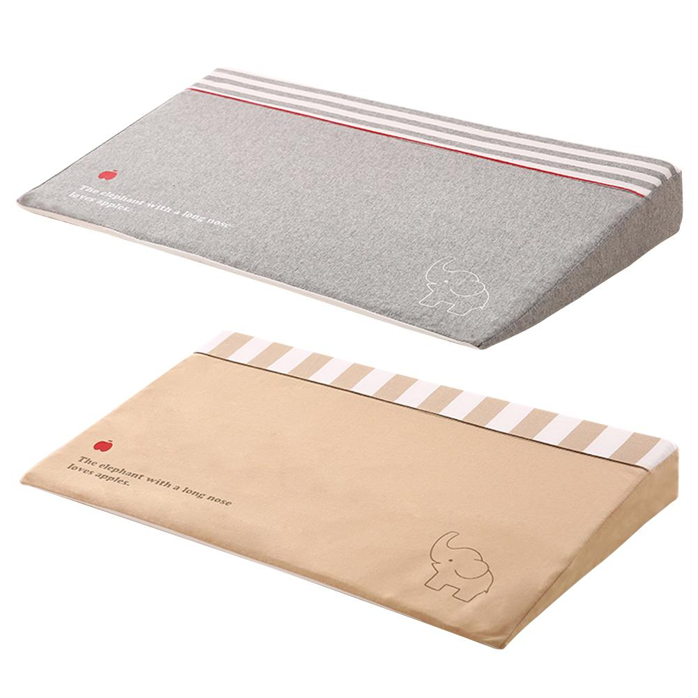 Waterproof Baby Wedge Pillow with 10 Degrees Tilt to Prevent Infants from Spitting and Drooling 5