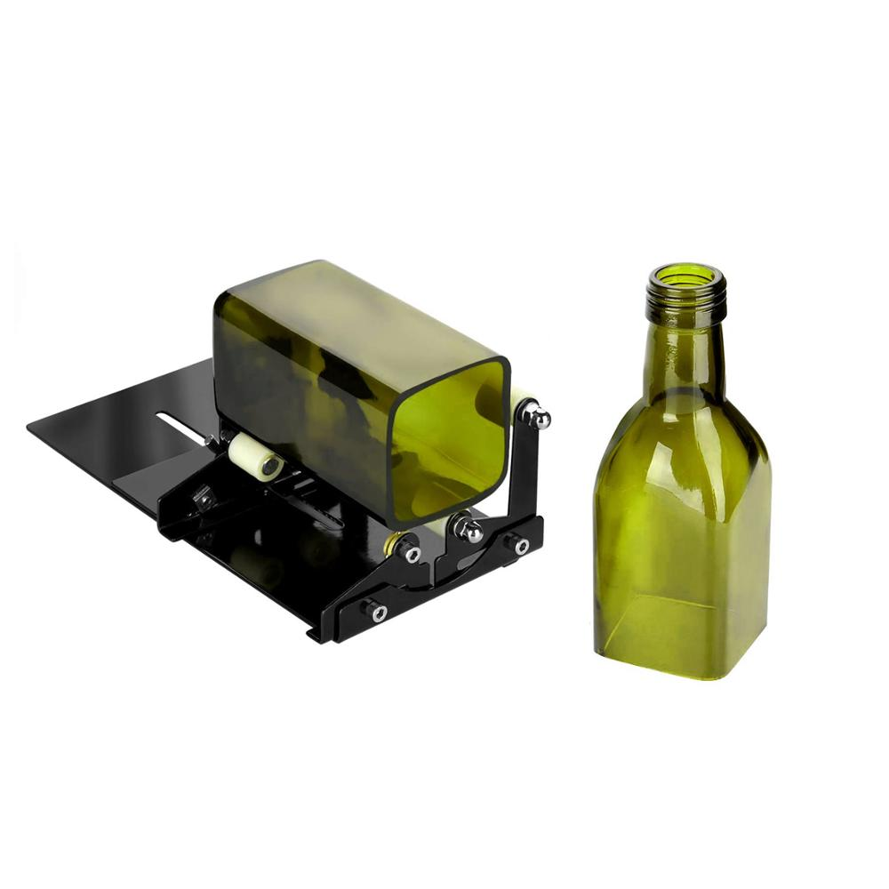 Glass Bottle Cutter Wine Beer Glass Sculptures Cutter For DIY Glass Cutting Machine Metal Pad   Bottle Holder