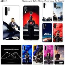 De Fast Furious Saga F9 SOFT TPU Telefoon Case voor Huawei Y9S Y7P Y6S Y8P P40 P30 P20 Lite Y6P Nova 5 t P-SMart Z Mate20 Y8S cover