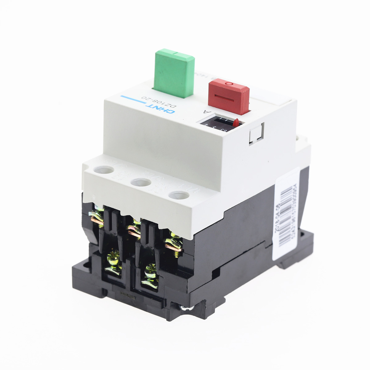 BRAND NEW DZ108-20 3VE1 6.3-10A Circut Breaker for Motor Protection 1PCS