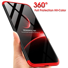 360 Case for Xiaomi Redmi 7A Shockproof Luxury Hard PC Full Protective Cover for Xiaomi Redmi Note 7 Redmi 7 Case Tempered Glass tempered glass case for redmi 7a note 7 pro redmi note 7 case glossy xiaomi redmi 7 note 7 glass case protective cover luxury