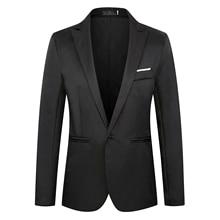 2021 New style men's fashion leisure suit wedding ceremony groomsman must wear Korean edition small suit coat