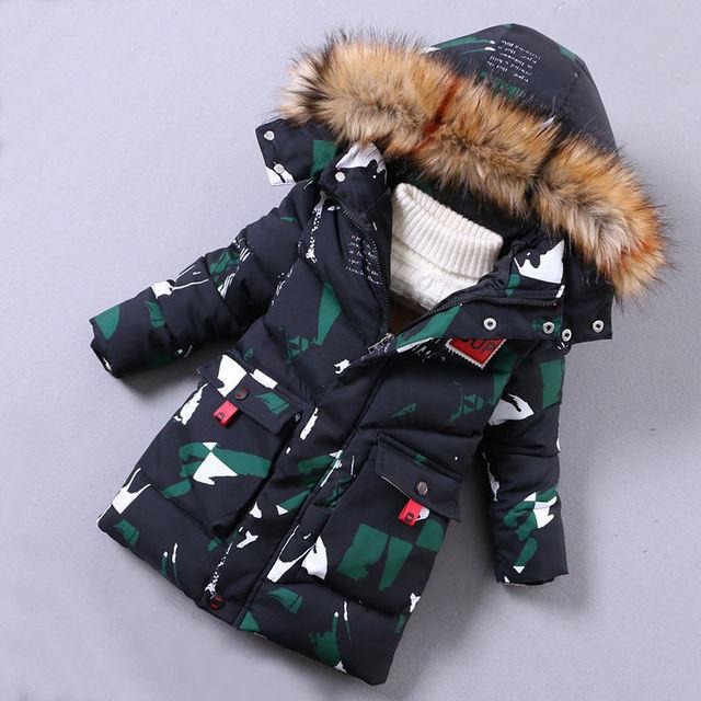 Manteau imperméable pour garçons | Veste dhiver chaude pour garçons, Parkas enfants, vêtements dextérieur, coupe-vent, imperméable pour enfants, russie hiver 30