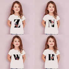 Letters Plant Novelty Printed 2020 Boys Clothes Kids T Shirt