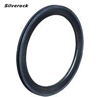 Silverock Carbon 20 1 1/8 451 Rims fit Mini Velo Friday Folding Bike Recumbent Bicycle 20H 24H 28H 50mm Width Clincher Rims