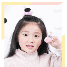 5 Pcs Cartoon Baby Hair Clips For Girls Princess Lace Hirpins  Rabbit Ears Shine Headwear Plaid Animal Barrette Accessories