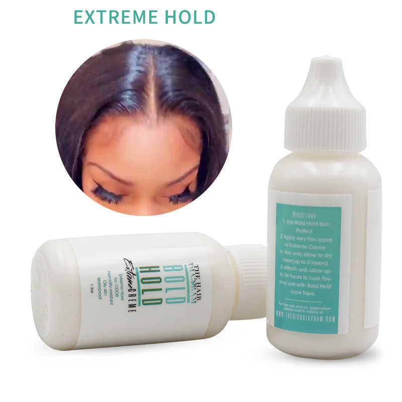 THE HAIR DIAGRAM BOLD HOLD EXTREME CREAM 1.3OZ LACE GLUE ADHESIVE