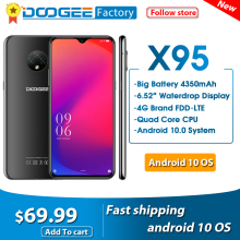 DOOGEE X95 Android 10 4G-LTE Cellphones 6.52\