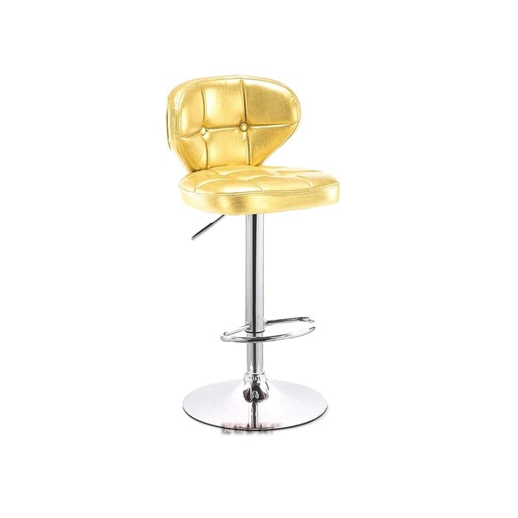 Bar Stool European Bar Chair Lift High Stool Modern Simple Bar Chair Back Bar Stool