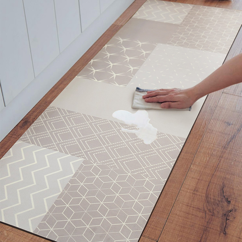 Pvc Kitchen Mat Waterproof Oil Proof Entrance Door Mat Kitchen Rug Pu Leather Anti Fatigue Bathroom Kitchen Carpet Non Slip Carpet Aliexpress