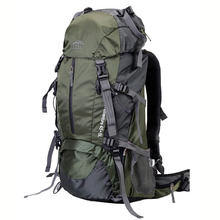 Backpack 40L 50L 60L travel bag outdoor mountaineering bag ultra light waterproof mountaineering backpack rock climbing hiking c цена