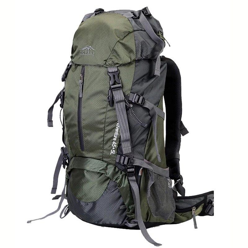 Sac à dos 40L 50L 60L sac de voyage extérieur sac d'alpinisme ultra léger étanche sac à dos d'alpinisme escalade randonnée c