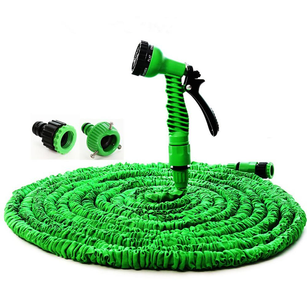 Telescopic Car Wash Hose Gardening Imitation Water Pipe Latex Hose 25ft 50ft 75ft 100ft  Garden Irrigation Supplies Water Pipe