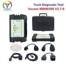 Herramienta de diagnóstico de camiones, interfaz de actualización en línea, para UD/Mack, Volvo Vocom V2.7.9, Vocom, envío gratis, 88890300