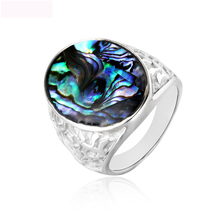 Luxury New Color Shell Fashion Jewelry Ring Titanium Steel Finger Rings Casting For Women Free Shipping
