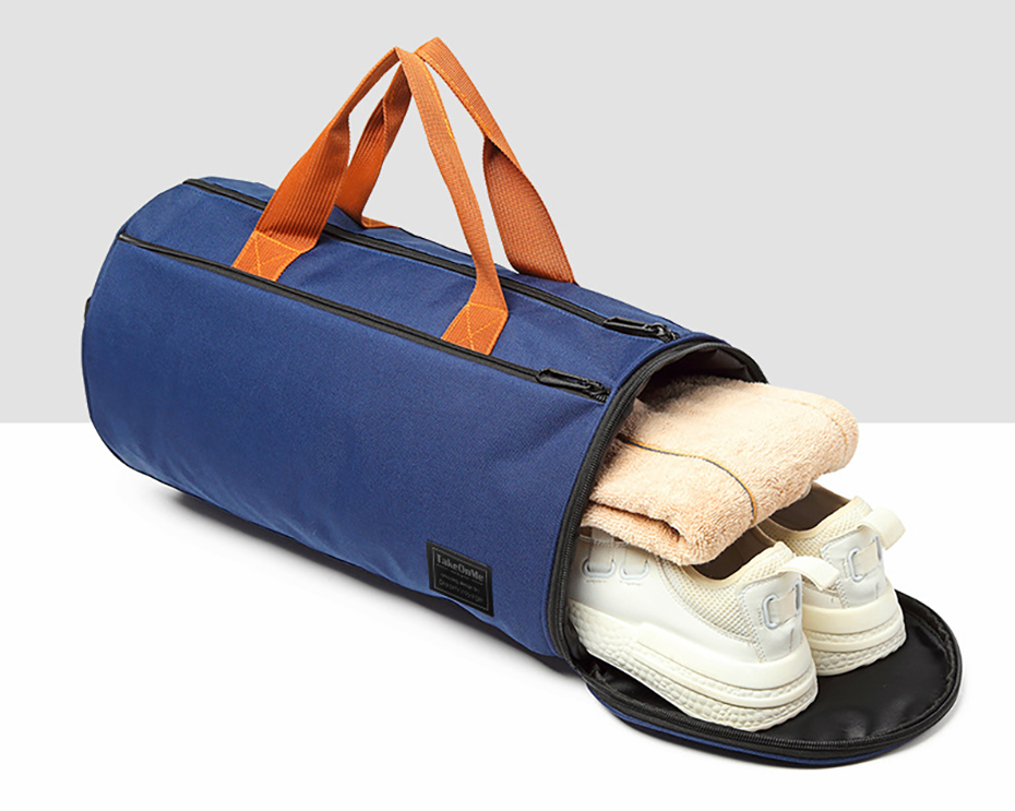 Sports Gym Bag with Shoes Pocket for Men and Women Womens Bags Mens Bags