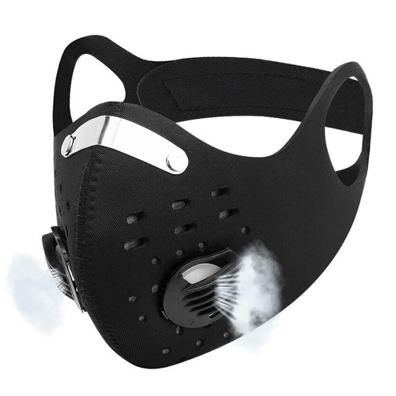 Cycling Mask PM2.5 Dust Mask Activated Carbon With Filter Anti-Pollution Outdoor Sport Running Bicycle MTB Bike Face Mask  7