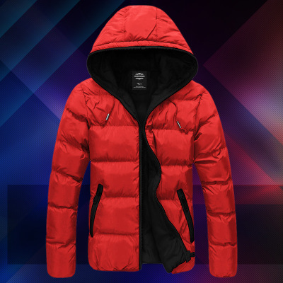 Teenager 12 Junior High School Students 13 Big Kid 14 MEN'S Cotton-padded Clothes Boy Winter Coat 15-Year-Old Down Jacket Cotton