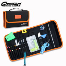 Gzerma 48ピース/セットドライバーセットiphone 12 ipad macbook腕時計の携帯電話の修理スマートフォン画面の修理ツールキットハンドツール