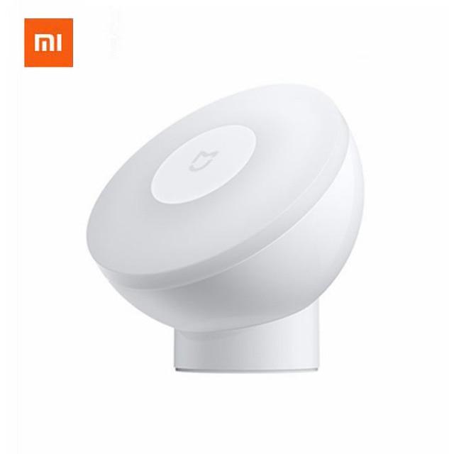 Cổ Xiaomi Mijia Đèn Ngủ Có Thể Điều Chỉnh Độ Sáng Hồng Ngoại Thông Minh Cơ Thể Con Người Cảm Biến Đế Từ Đèn Ngủ Cảm Biến