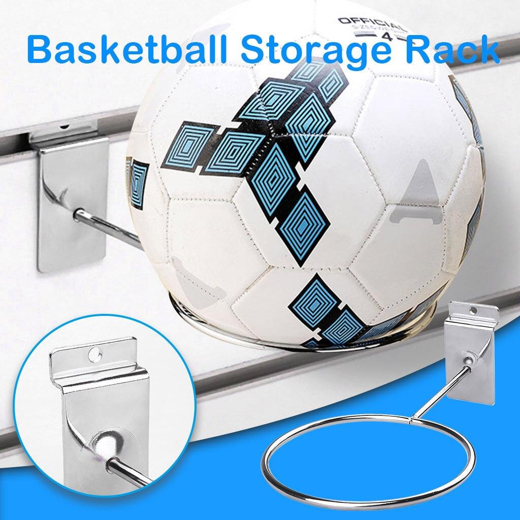 Calcio calcio pallacanestro portaoggetti da parete Slot per schede di visualizzazione supporto da parete per palline sportive supporto per Display per negozio di casa