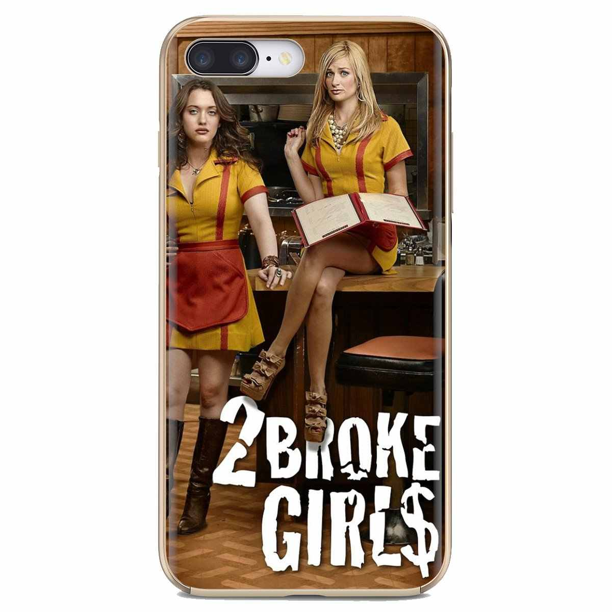 Huawei onur için Y5 2018 2019 8S 9X Pro 20 10 10i Lite 2 Broke Girls Drama programı irls silikon telefon kaplaması kılıfı