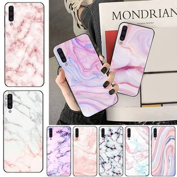Marble Matte Soft Phone Case Phone Case For Samsung galaxy S 7 8 9 10 20 edge A 6 10 20 30 50 51 70 note 10 plus image