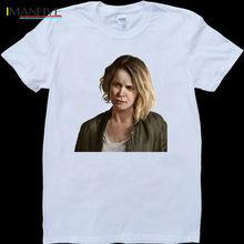 True Detective Season 2 Ani Bezzerides Mens White, Custom Made T-Shirt 100% Cotton Short Sleeves Tee Shirts O-Neck Stylish