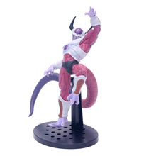 цена на Anime Dragon Ball Z Frieza Second Form PVC Action Figure Collectible Model doll toy 19cm