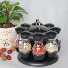 Revolving Spice Rack Jars For Spices Spinning Countertop Herb Organizer Sets For Home Kitchen Spinning Spice Rack 2020  hot