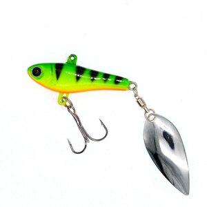 Image 5 - WLDSLURE דיג ספינר פיתיון 20g כף פיתוי מתכת פיתיונות טרבל וו isca מלאכותי דגי wobbler מזין קרפיון spinnerbait