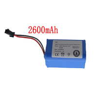 цена на 14.8V 2600mAh High quality Hot sale Li-Ion Replacements Rechargeable Battery for PUPPYOO V-M900R 900G robot cleaner