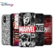 Marvel Avengers Voor Xiaomi Redmi 9T 9I 9AT 9A 9C 9 8A 8 7A 7 6A 6 5A 5 4X Pro Prime Plus Zwart Soft Phone Case