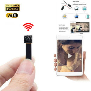 Newest 1080P Full HD IP P2P H.264 Ultra Mini WIFI Flexible Camera Video Audio Recorder Motion Detection Camcorder