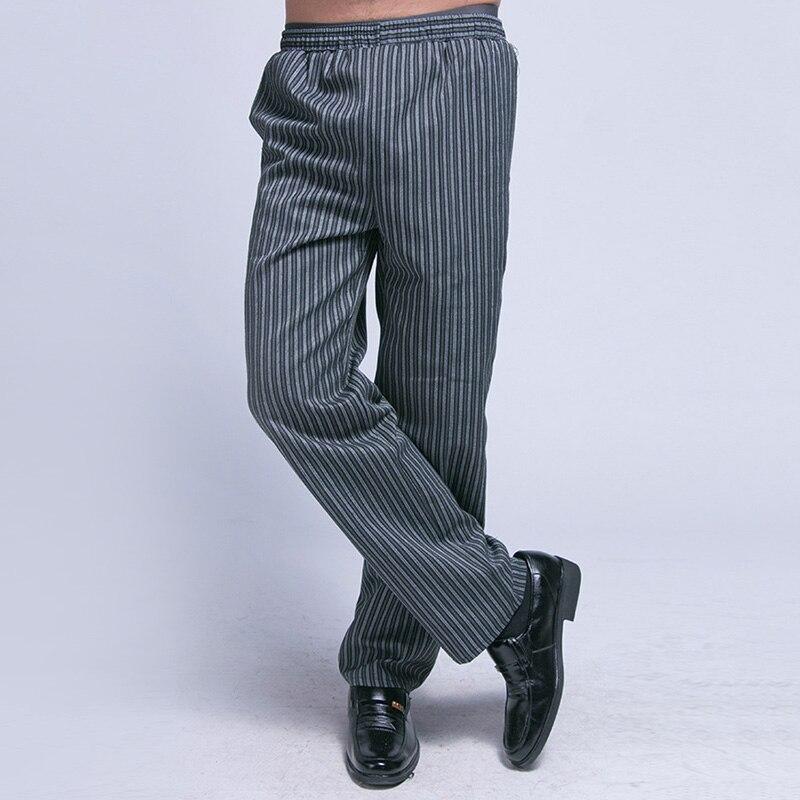 Pants Men Pants Mens Trouser Kitchen Black Male Baggy Restaurant Staff Comfy