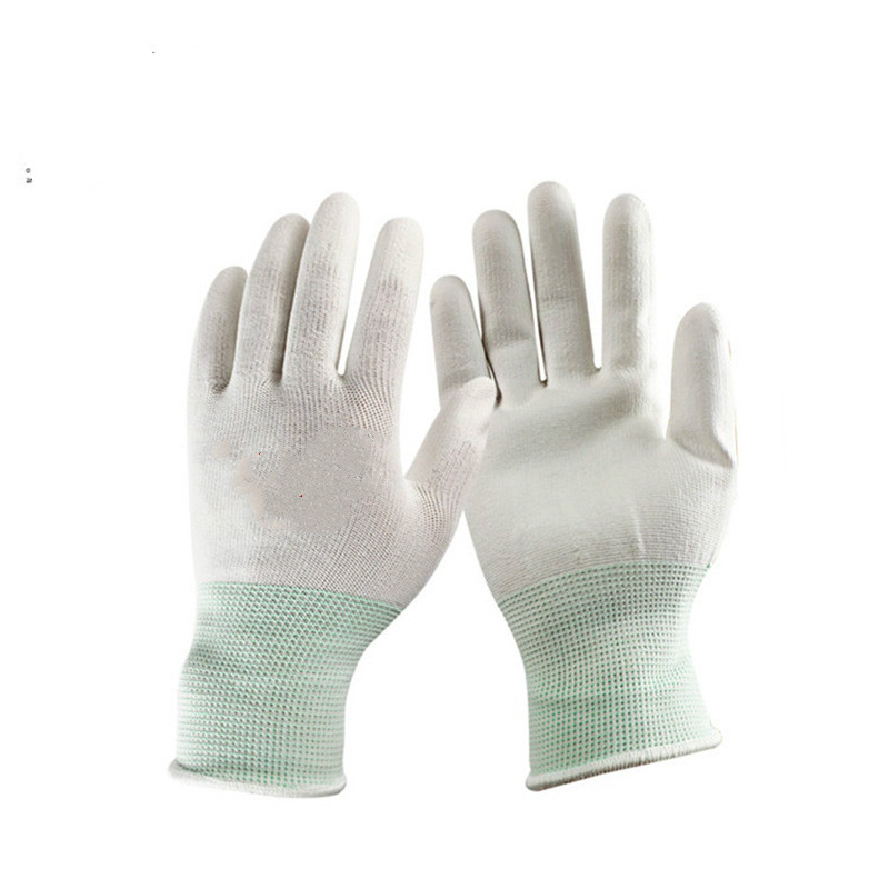 Thicken Work Gloves White Gloves Cotton Gloves Protective Gloves