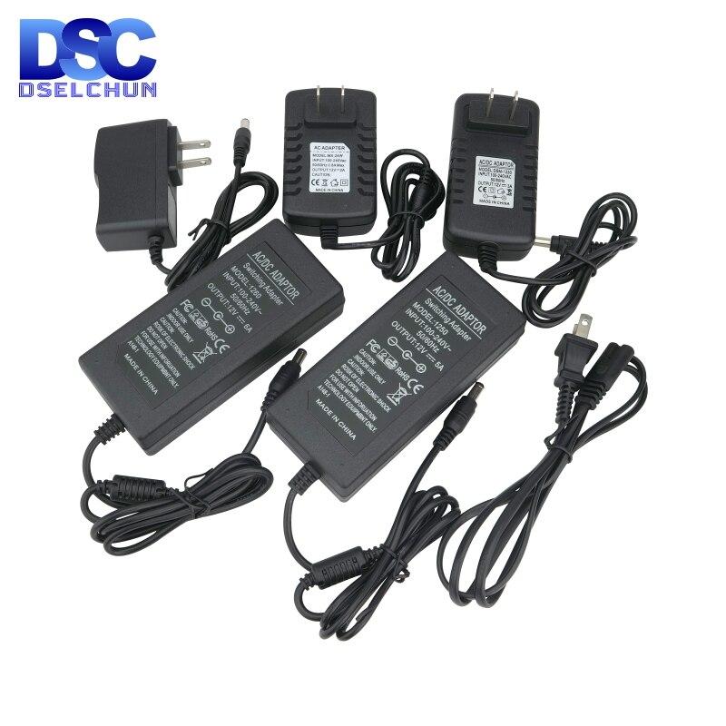 Power Adapter Versorgung DC12V 1A 2A 3A 5A 6A Beleuchtung Transformatoren AC 110V 220V zu DC 12 V 12 volt EU UNS Led-treiber für LED Streifen