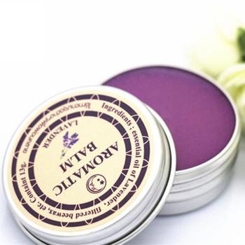 1PC Sleepless Cream Improve Sleep Soothe Mood Lavender Aromatic Balm Insomnia Relax Aromatic Balm Fragrances Deodorants TSLM1 1