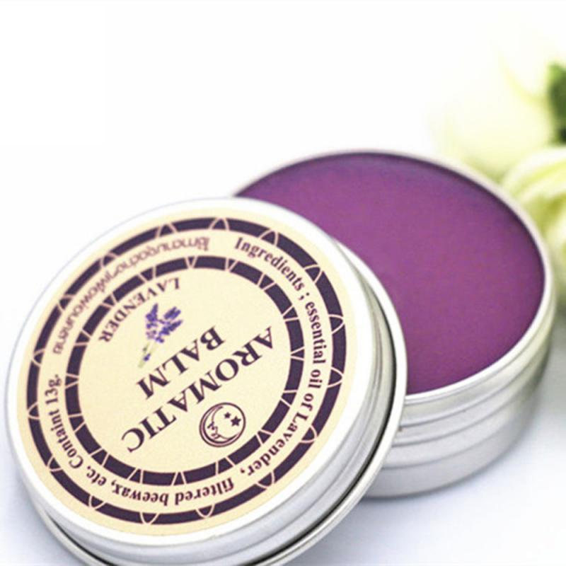 1PC Sleepless Cream Improve Sleep Soothe Mood Lavender Aromatic Balm Insomnia Relax Aromatic Balm Fragrances Deodorants TSLM1