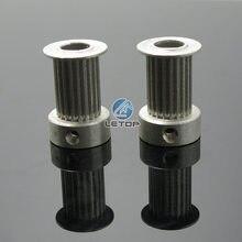 Peça da impressora timing polia 2gt witcolor 20 dentes rodas de alumínio engrenagem parte