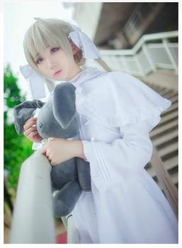 Anime Yosuga no Sora Cosplay Costume Kasugano Sora Cosplay Rabbit Ear Lolita Dress Carnival Halloween Party Costumes for Women 2