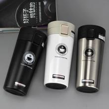 Caneca de café para viagem premium, de aço inoxidável, térmica, copo, frasco a vácuo, garrafa de água, chá, copo térmico, imperdível