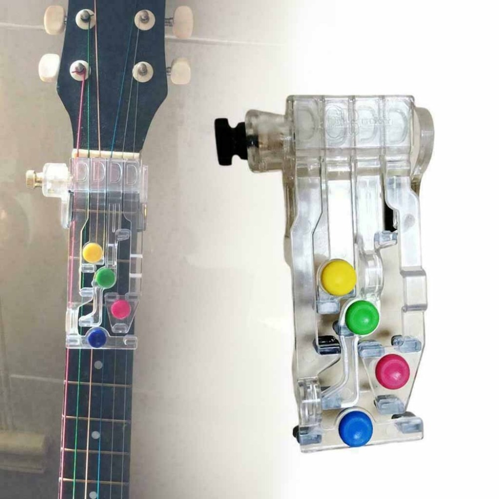 Chord novice lazy artifact pain-proof fingertips finger-assisted guitar assistant guitar learning system teaching 20D18 (1)
