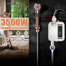 3000W Water Heater Bathroom Kitchen Instant Electric Hot