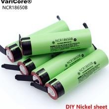 NCR18650B 3,7 v 3400mah 18650 литиевая аккумуляторная батарея сварочные никелевые листовые батареи